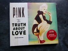 PINK P!NK THE TRUTH ABOUT LOVE DELUXE DIGIPAK DOUBLE CD ALBUM EXC
