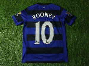 MANCHESTER UNITED # 10 ROONEY 2011-2013 FOOTBALL SHIRT JERSEY AWAY NIKE ORIGINAL
