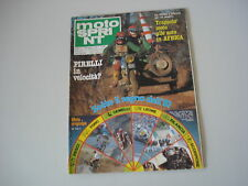 MOTOSPRINT 2/1981 PROVA TEST MOTO YAMAHA XV 750 SE/SERVIZIO MONTESA COTA 348 T