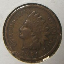 1891~~INDIANHEAD CENT~~VF-XF BEAUTY