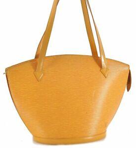 Auth Louis Vuitton Epi SaintJacques Shopping Shoulder Bag Yellow M52269 LV C8033