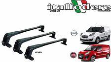Barre portatutto Gev kit 3pz Fiat Doblò 2010> 2015> - Opel Combo 2012> 4830