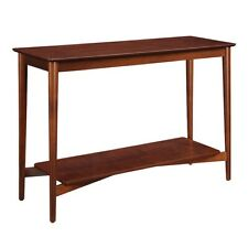 Convenience Concepts Savannah Mid Century Console Table, Mahogany - 7303099