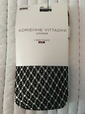 Adrienne Vittadini Legwear Pantyhose Tights Black S/M