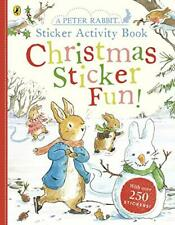 Peter Rabbit Christmas Fun Sticker Activity Book by Beatrix Potter (english) Pap