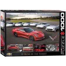 eg60000736 - Eurographics Puzle Rompecabezas 1000 piezas Corvette Runs en la