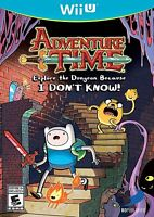 Adventure Time: Explore the Dungeon Because I Don't Know (Nintendo Wii U, 2013)