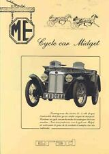 1946 1994 MG TC MGTC ERAD ME Replica Brochure French wj5816-456X6K