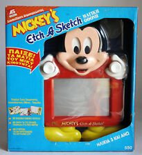 RARE VINTAGE 1991 MICKEY'S ETCH A SKETCH OHIO ART MICKEY MOUSE NEW SEALED !