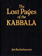The Lost Pages of the Kabbala-1st Edition-Racherbaumer-Cards-Close-Up-Magic Book