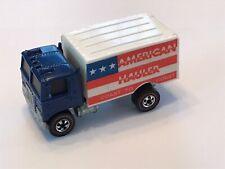 Hot Wheels Redline AMERICAN HAULER Blue Enamel Flying Colors Clean!