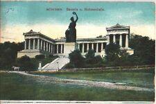 München, Bavaria, Ruhmeshalle, von München nach Wien vom 06.09.1907