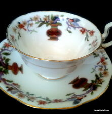 Aynsley Bird and Vase Teacup & Saucer Art Deco A4017 Tea Cup & Saucer c.1920s