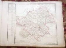 Dépt 44 - Carte Originale de 1790 - Gravure sur Cuivre Aquarellée 73 x 56 cm