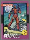 DEADPOOL 1992 Impel #43 First Appearance Card Mint Marvel X-Men X-Force