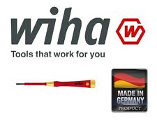 Wiha 38876 2.5mm x 60mm Slotted Flat Pico Finish VDE Electric Screwdriver