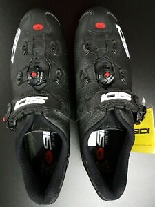 Cycling Bicycle Shoes Sidi Scarpe Wire 2 MattCarbon Zapatillas Ciclismo 44.5 New
