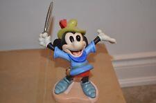 Disney Classics Porcelain 1993 Mickey Mouse Brave Little Tailor