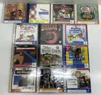 Lot of 13x SEALED Vintage CD-ROM PC Games & Software Windows 95/DOS DA92984 PCL3