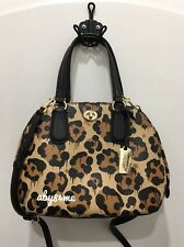 72a194e11e  NWT  Coach Ocelot Mini Prince Satchel Handbag Printed Leather 37101 Wild  Beast