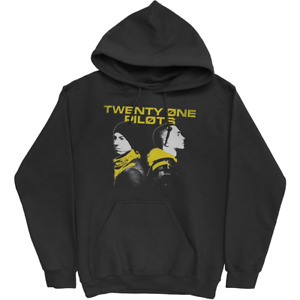 Twenty One Pilots (Back To Back) Unisex Pullover Hoodie 100% Official UK Seller