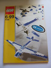 LEGO 4098 @@ NOTICE / INSTRUCTIONS BOOKLET / BAUANLEITUNG