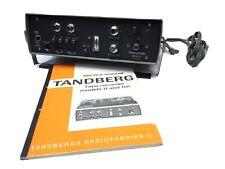 TANDBERG Model 11 Reel To Reel Recorder Norway + Power Supply Manual~ Clean