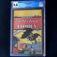 Detective Comics #27 (1984 Reprint) 💥 CGC 9.8 💥 Oreo Cookies Giveaway DC Comic
