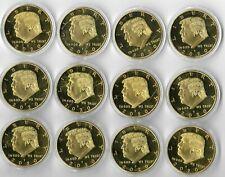 Rare 2020 US Donald Trump President Gold Eagle Collectible Collection Coin Lot