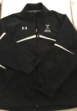 Under Armour Texas Tech Red Raiders Mens Soccer #12 Full Zip Jacket Size Large
