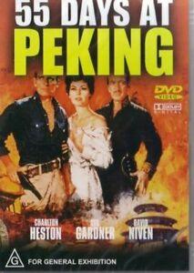 55 Days At Peking DVD Charlton Heston New Sealed Australia
