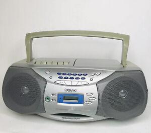 Sony CFD-S26 Mega Bass Cd Cassette Am/FM Stereo Radio