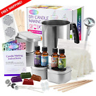 Candle Making Kit Supplies By CraftZee, Create Large Scented Soy Candles