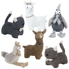 Novelty Fabric Animal Pet Door Stop Stopper Wedge Filled Heavy Trendy Stylish
