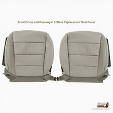 2008 Acura TL Type S DRIVER-PASSENGER Bottom Perforated Leather Seat Cover Gray