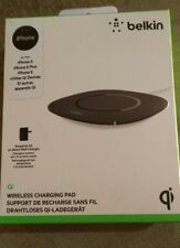 Belkin Qi-Certified 5W Wireless Charging Pad iPhone x iPhone 8 iPhone 8+