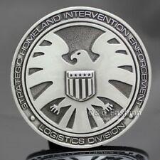 Marvel Comics Agents of SHIELD S.H.I.E.L.D Logo BELT BUCKLE Collectible Avengers