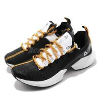 Reebok Sole Fury SE Black White Solar Gold Men Running Shoes Sneakers DV6919