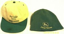 Guc, ( 2 For 1 Price )- John Deere Youth Hats,Yellow/Green,Adj.
