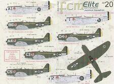 "Fcm 1/48 republic P-47D thunderbolt ""Bubbletop"" brasilian jambock escadron # 480"