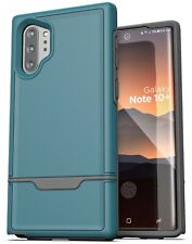 Samsung Galaxy Note 10 Plus Protective Tough Case Full Body Rugged Cover Blue