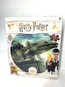 Harry Potter Prime 3-D Dragon Puzzle 500 Piece Complete Like New