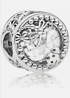 New Authentic Pandora Charm 797047CZ  Enchanted Nature Sterling Silver Bead