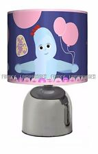 IN THE NIGHT GARDEN ☆ PINK BEDSIDE TOUCH LAMP ☆ GIRLS NIGHT LIGHT ☆