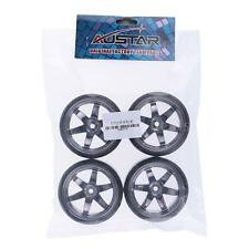 NEW 4Pcs/Set 1/10 Drift Car Tires Hard Tyre for HPI On-Road Drifting Car T2D7