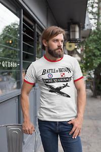 Koszulka T-Shirt Dywizjon 303 Squadron 303 Spitfire Polish Poland England