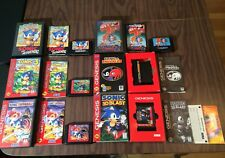 Sonic the Hedgehog 1+2+3 +& Knuckles +Spinball +3D Blast (Sega Genesis) Complete