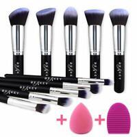 Brochas De Maquillaje Set Profesional Para Sombras Líquida Polvo - Cabra Sephora