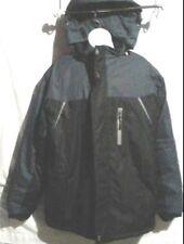 Men's S-ROEVE Waterproof Mountain Jacket Lined Windproof Coat Hooded US Large.