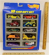 Vintage Hot Wheels 10 Car Gift Set 1997 Mattel w/ Exclusive Vehicle Sealed NIB